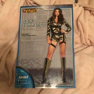 """Goin commando"" Halloween costume"